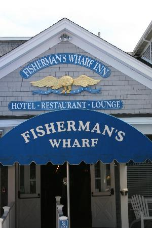 Fisherman's Wharf Inn: Fisherman's Wharf Front Entrance
