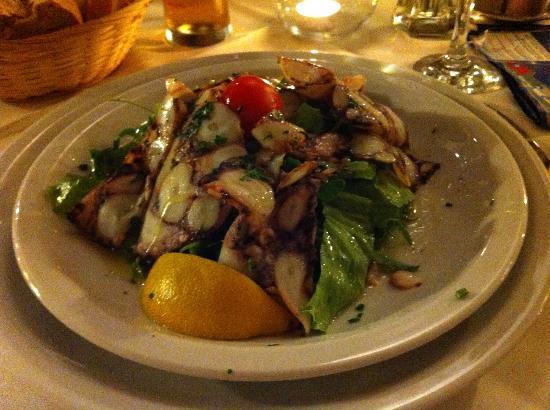 Moskar Konoba: octopus salad