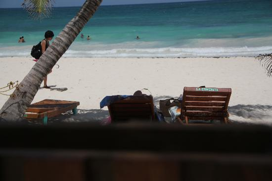 Hotel CalaLuna Tulum: Hermosa vista