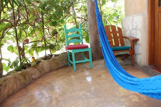 Hotel CalaLuna Tulum: Entrada a la habitación