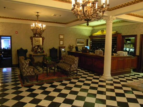 front desk hotel lobby picture of le richelieu in the french rh tripadvisor ca