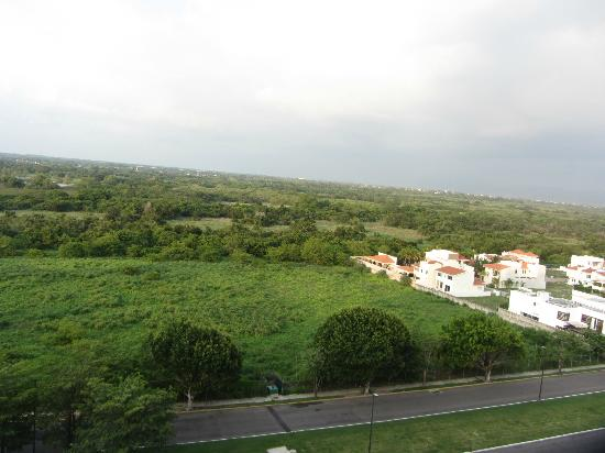 Hotel Riu Vallarta: view out of a hotel window..so green!