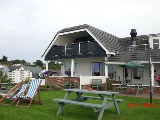 Gurnard, UK: Balcony Suite at Little Gloster