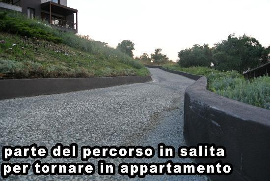 Athos Villas: percorso dalla spiaggia all'appartamento