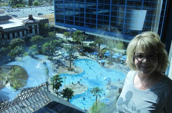 View from room - 2 bedroom suites disneyland anaheim ...