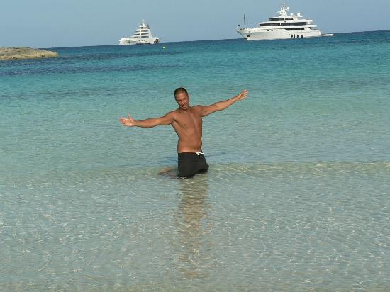 Strand Playa de ses Illetes: strepitosa!!!!!!!