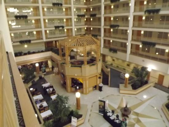 Embassy Suites by Hilton Columbus Dublin: Atrium
