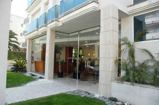 Hotel Platja Mar : Entrada al hotel