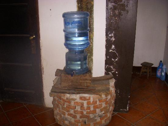 Hotel Burkhard: agua