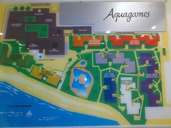 TUI Family Life Sirenis Aura : Plano hotel Aura