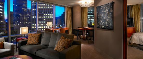 Shangri-La Hotel, Vancouver: Deluxe One Bedroom Suite