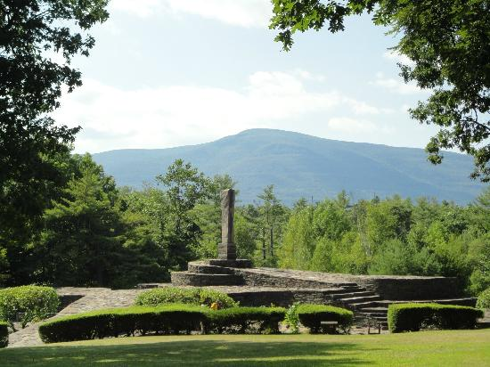 Saugerties, Нью-Йорк: The top of Opus 40