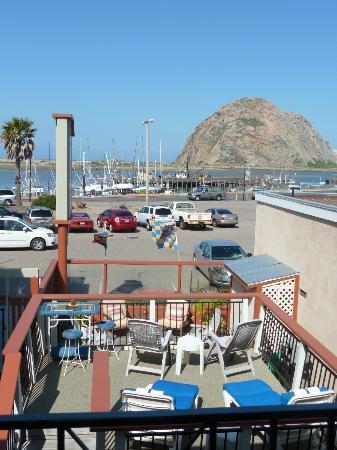 Bayfront Inn: vue de notre chambre