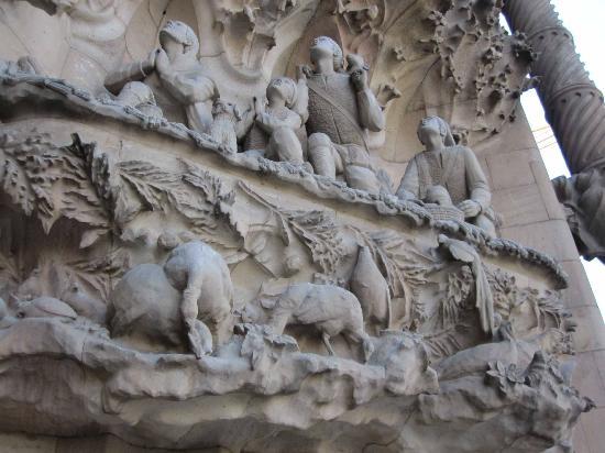 Barcellona, Spagna: Barcelona-Sagrada Familia
