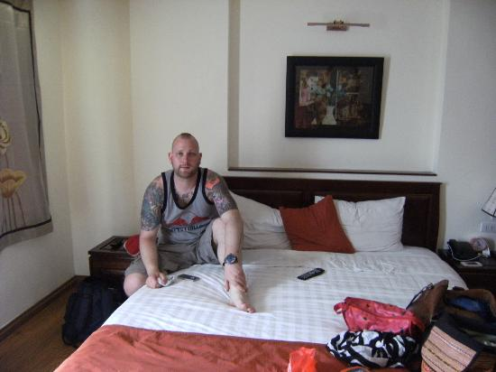 Hanoi Charming 2 Hotel: Very comfortable bed!