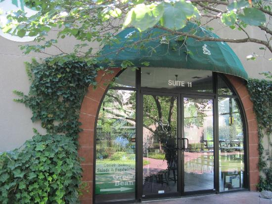 The Green Bean: Front entrance