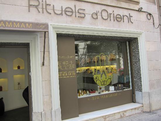Spa-Hammam Rituels d'Orient: outside