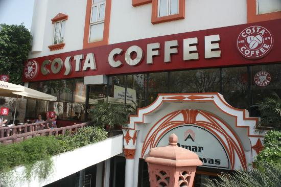 Amar Yatri Niwas: Costa coffee next door!
