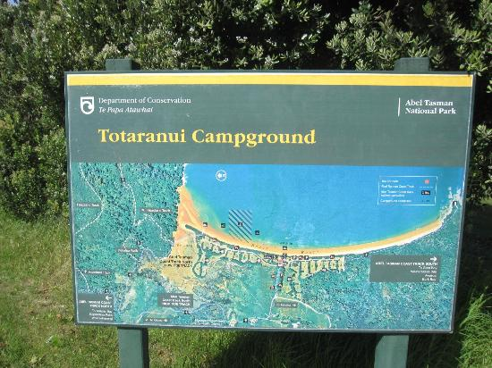 Totaranui Campground: Campingplatz
