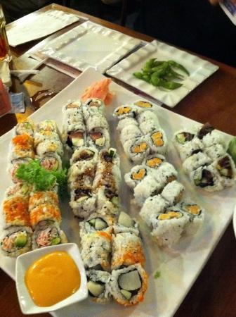 Edo Sushi: The delicious sushi platter