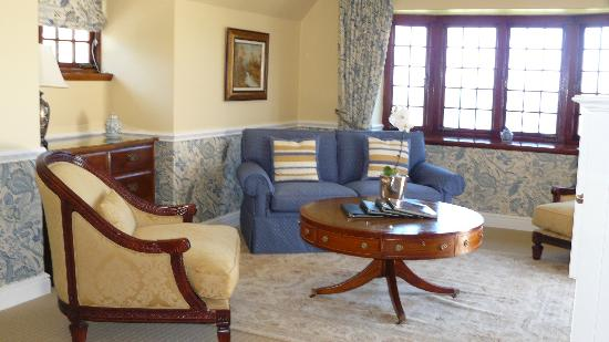 St James Manor: Sitting area