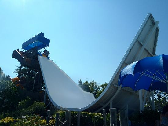 Wet'n Wild Emerald Pointe: the EDGE... aka scariest water ride ever