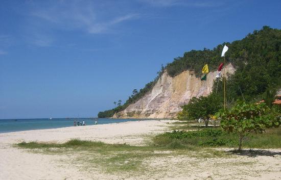 Halai Pousada e Restaurante : praia da argila
