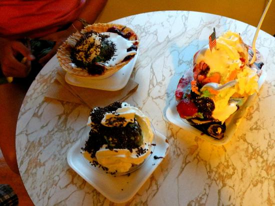 Kellerhaus: Some Sundaes!