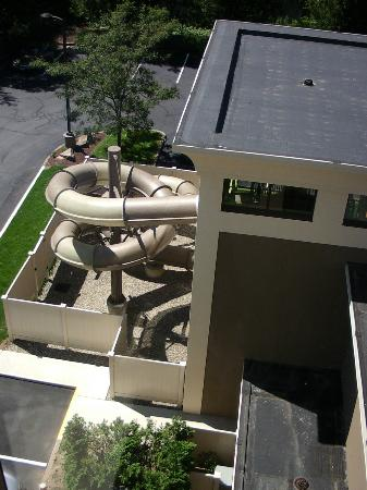 Hampton Inn by Hilton Shelton: Water slide from my room