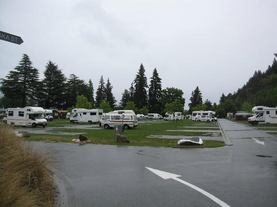 Queenstown Lakeview Holiday Park : Campingplatz