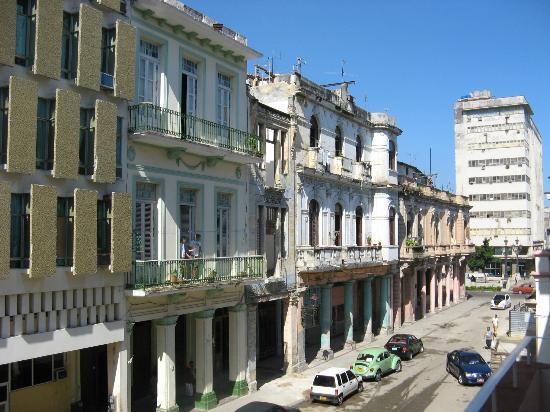 Casa Maura Habana Vieja: Vue du balcon