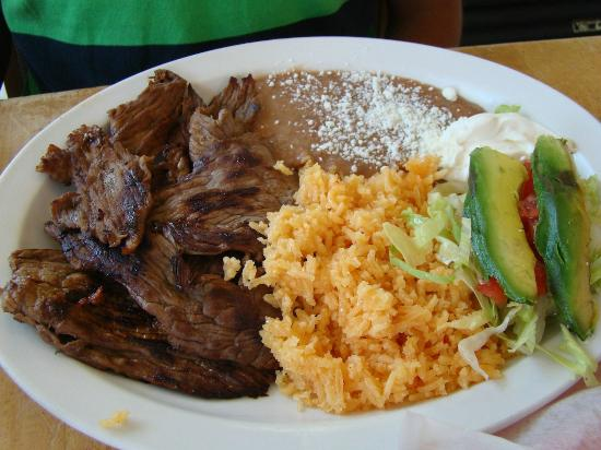 Taqueria Santanna : Carne asada platter