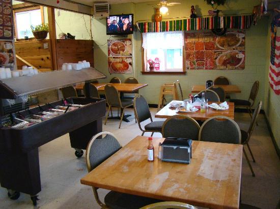 Taqueria Santanna : Dining room