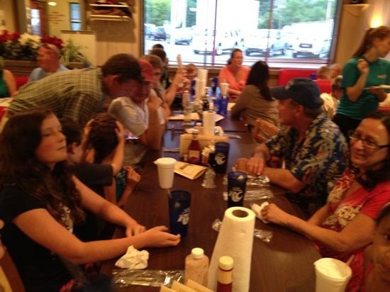 Hutchens' BBQ : hungry folks