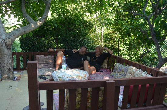 Akay Pension: giardino