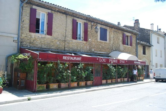 Lauris, Fransa: a great lunch spot