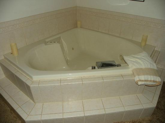 The Inn at Westwynd Farm: Our tub