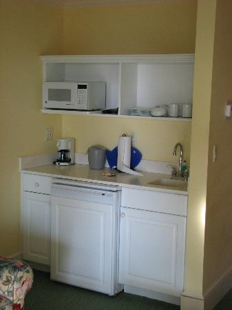 The Inn at Stonecliffe: Bar,fridge area