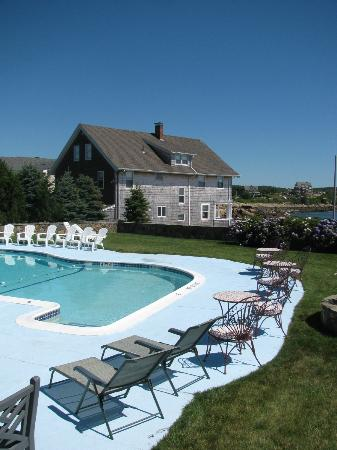 Gloucester Inn by the Sea: By the pool.