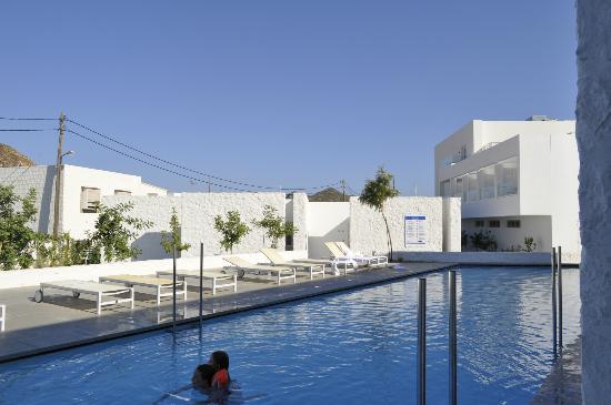 Patmos Aktis Suites & Spa: pool!