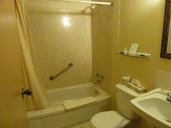 Haida Way Motor Inn: Badezimmer