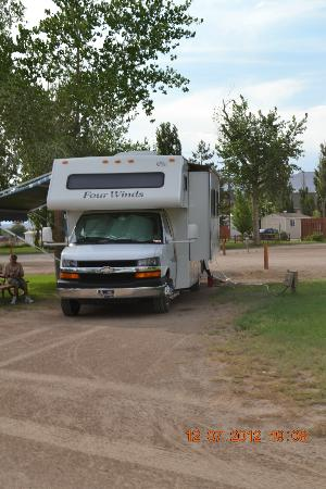 Green River KOA Camground: Campground RV Sites