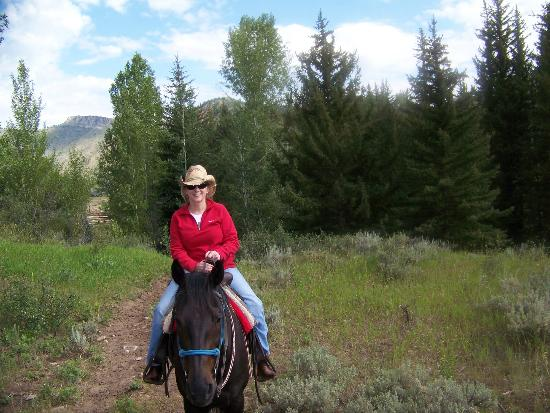 Spotted Horse Ranch: Riding In The Mountains