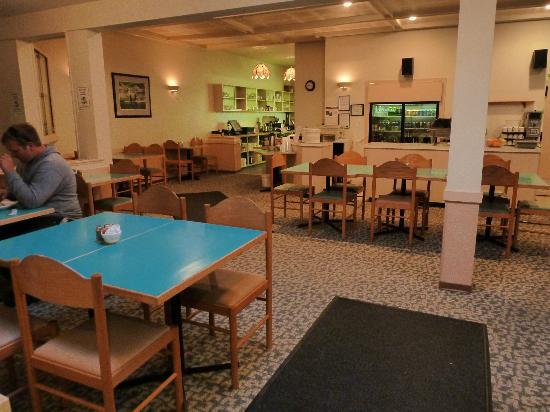 Haida Way Motor Inn: Frühstücksraum (auch Abendessen möglich)