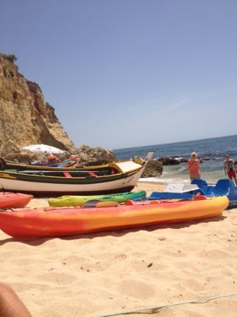 Monte Carvoeiro: carvoeiro beach
