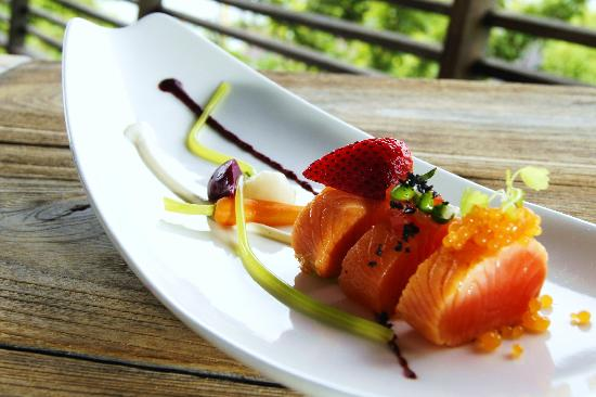 Dining on the Rocks: New Menu to be Launch (Salmon Cured)