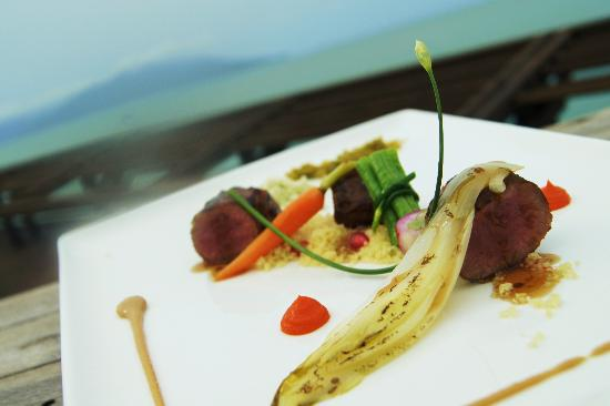 Dining on the Rocks: New Menu to be Launch (Pillow Lamb Sous Vide)
