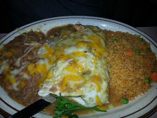 Mike's Roadhouse Cafe: My husband got the Chile Verde burrito and said it was wonderful. there was so much food he coul