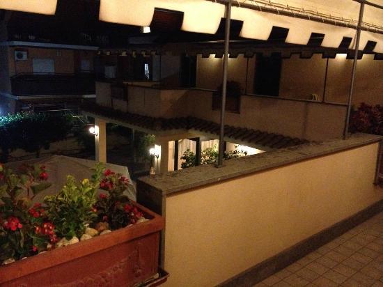 Hotel Villa Giulia: Balcon et Patio