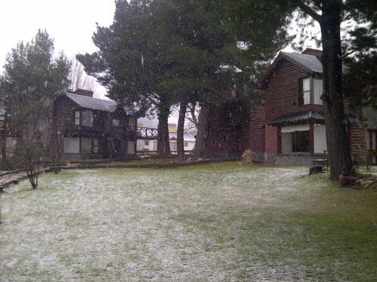 Ibai ko Mendi: Cabañas nevando